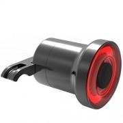 generic Mini Bike Brake Light Intelligent Sensory Bicycle tail Rear Light USB Charging Bike taillight Lamp black