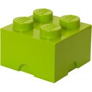 LEGO kutija za spremanje 250x250x180 mm, svijetlo zelena