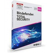 Bitdefender GmbH Bitdefender Total Security 2020 Multi-Device, 5 Geräte - 2 Jahre, Deutsch, Download