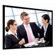 Telas de Projeção Rigidas 350x267cm 4:3 Ecrã Framepro Vision White Profissional Adeo