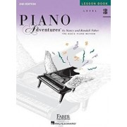 Level 3b - Lesson Book: Piano Adventures, Paperback (2nd Ed.)/Nancy Faber