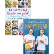 Combipakket De Wereld van de Happy Pear & De Happy Pear Recepten voor geluk - David Flynn en Stephen Flynn