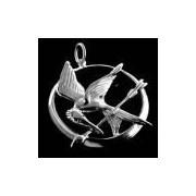 Pingente Jogos Vorazes - Tordo - Folheado A Prata