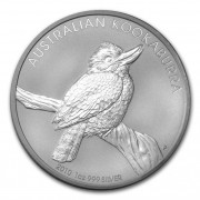 Kookaburra Stříbrná mince 1 AUD Australian Ledňáček 1 Oz 2010
