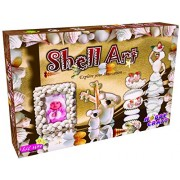 Shell Art - An Unique Craft Kit - With Six Different Assortments of Shells