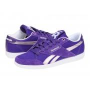 Adidasi casual femei Reebok Classic Fabulista rich purple-glitz met-white