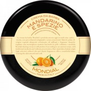 Mondial Luxury Shaving Cream Plexi Bowl 150 ml Mandarino E Spezie