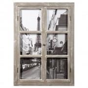 Maisons du Monde Cuadro ventana de madera 57x79