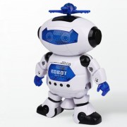 Smart Space Dance Robot Electronic Walking Toys Avec Musique Light Gift For Kids Astronaut Toy To Child-Moosungeek