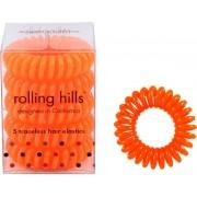 Rolling Hills Professional Hair Rings Dark Orange Haargummi