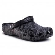 Șlapi CROCS - Classic Printed Camo Clog 206454 Black