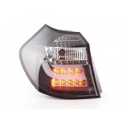 FK-Automotive feux arrière LED BMW série 1 E87/E81 3/5-porte. année 04-06 noir
