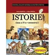 Istorie. Manual clasa a IV-a (partea I+II+CD)/Cleopatra Mihailescu, Tudora Pitila