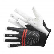 Craft Full Finger Gel Bike Gloves Black/White 1901970