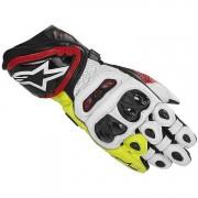 Alpinestars Guanti Moto Gp Tech Black Red Yellow Fluo Cod. 3556613