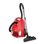 Aspirator cu sac Heinner HVC-MRD1400, 700 W, sac textil, 3 L, putere variabila, HEPA 12, tub telescopic metalic, Negru