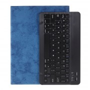 Bluetooth Keyboard with Leather Tablet Stand Case for iPad Pro 10.5-inch (2017)/Air 10.5 inch (2019) - Black/Blue