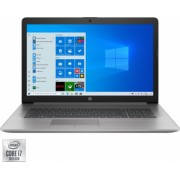 Laptop HP ProBook 470 G7 Intel Core (10th Gen) i7-10510U 512GB SSD 8GB AMD Radeon 530 2GB FullHD Win10 Pro Silver