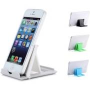 Techvik Pack Of 2 Adjustable Portable Foldable Multi-angle Tablet Desk Phone Stand Mobile Holder For Mobilephones