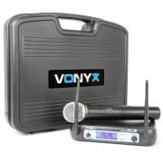 Vonyx WM511 Sistema de radio VHF de 1 canal Incl. maleta de transporte (179.229)
