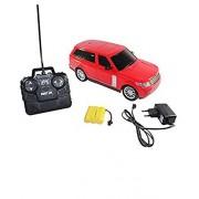 A M ENTERPRISES Rechargeable Remote Control Range Rover Car (Red)
