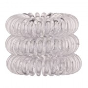 InvisiboBBle The Traceless Hair Ring gumice za kosu 3 kom nijansa Crystal Clear