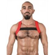 Mister B Urban X Back Club Harness Red/Black 820566