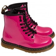 Dr. Martens Delaney Ankle Boots Fuchsia