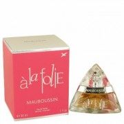 Mauboussin A La Folie For Women By Mauboussin Eau De Parfum Spray 1 Oz