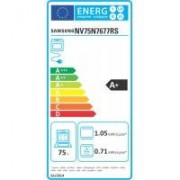 Samsung Four encastrable pyrolyse SAMSUNG NV75N7677RS Dual Cook Flex 75L Double Porte Wifi
