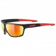 Uvex Sportstyle 706 Mirror S3 Occhiali da sole arancione/nero