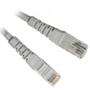 BRobotix Cable Patch Cat6 UTP con Bota RJ-45 - RJ-45 15m Gris 600502