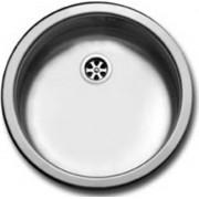 apell Fi435vibc Lavello Cucina Incasso 1 Vasca Tondo Larghezza 43.5 Cm Materiale Acciaio Finitua Prelucida - Fi435vibc Serie Firenze