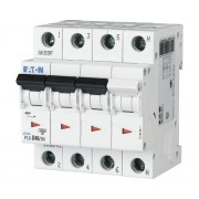 Disjunctor electric modular Eaton 3P+N 10A 6kA, curba C