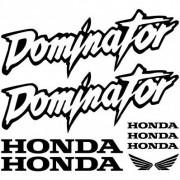 stickers folies Stickers Honda dominator