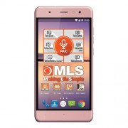 "Smart telefon MLS ALU DS Roze 5.5""HD IPS, QC 1.3GHz/1GB/8GB/8&3.2Mpix/4G/Android 7.0"