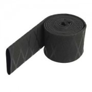 Electroprime® Heat Shrink Tubing X-Tube 2 : 1 Black Textured Non Slip Insulation Sleeving