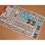 Schumacher U4320 Mi5 Decal Sheet (pack of 3)