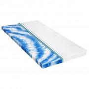 vidaXL Sur-matelas 160 x 200 cm Mousse de gel 7 cm
