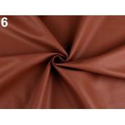 Ekobőr anyag táskákhoz, dekorációkhoz, 140cm/0.5m, rozsdabarna, 380735-6