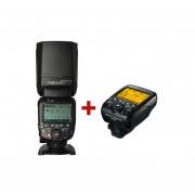 Kit Flash YN 600 EX-RT II Canon + Controlador YN E3-RT