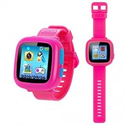 Game Smart Watch for Kids with Digital Camera Games Touch Screen, Cool Toys Watch Gifts for Girls Boys Children(Pink)