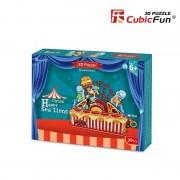 Puzzle 3D CubicFun CBF1 Leii de mare la circ