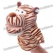 Mano Divertido Doll marionetas de peluche de juguete - Tiger