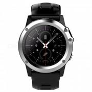 H1 MTK6572 IP68 GPS Wisconsin-Fi 3G camara Bluetooth reloj inteligente-Plata