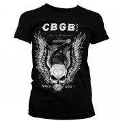 Tee CBGB Amplifier Girly Tee