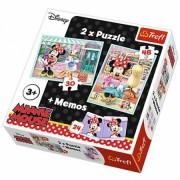 Trefl Puzzle 2u1 i Memos Minnie (12-906059)