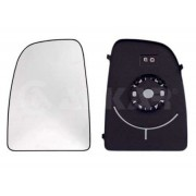 Geam oglinda dreapta cu incalzire PEUGEOT BOXER platou/sasiu 2006-prezent