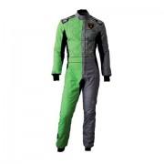 """Omp Racing """"One Art Suit """"""""Racing"""""""" Grigio/Verde Tg 52 Collezione Omp-Automobili Lamborghini"""