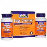 Комплект за пречистване на организма - Easy Cleanse Kit - AM 60 капсули, PM 60 капсули - NOW FOODS, NF2454